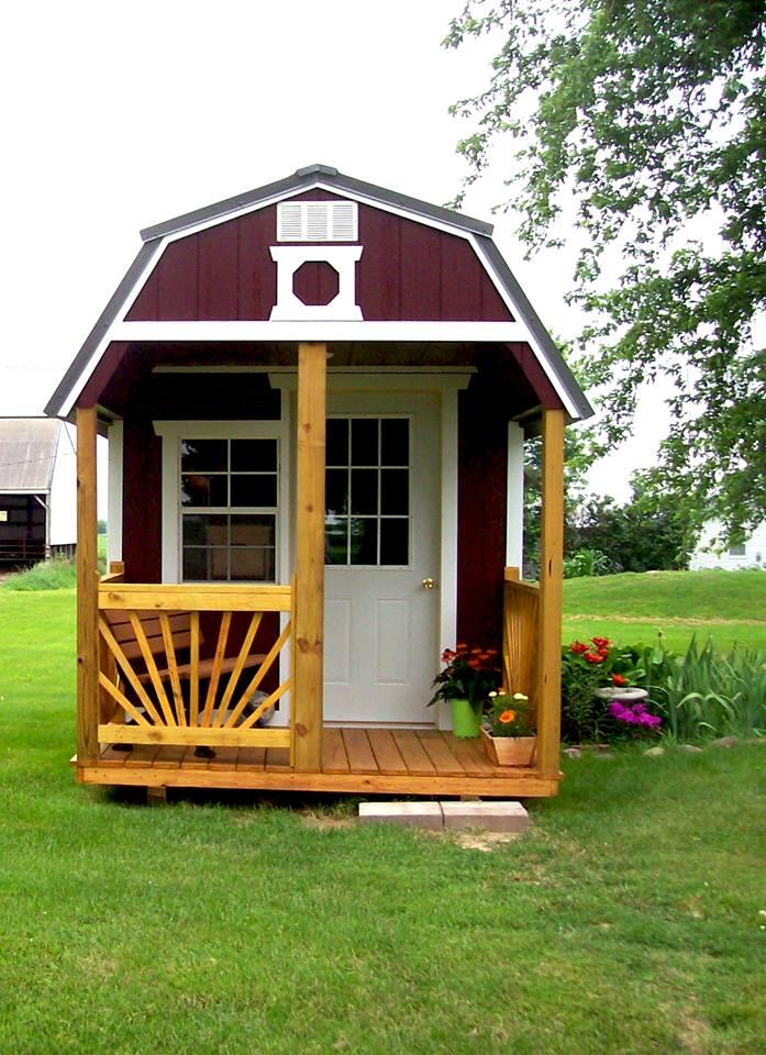 Front Porch Shed Package