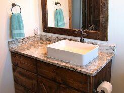 Guest Bath Granite Countertops