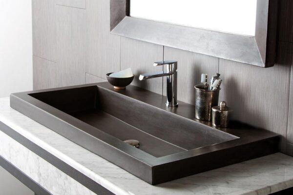 Trough-3619-Concrete-Bathroom-Sink-Slate-NSL3619-S