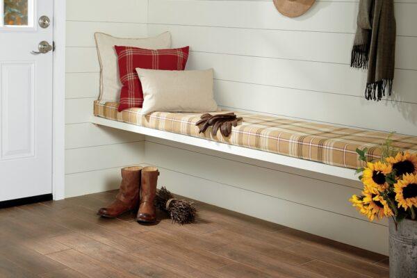wood-look floor tile