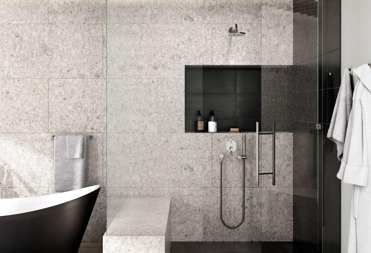 Quartz Tops in Bath Designs